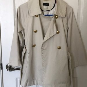 J Crew Short Trench